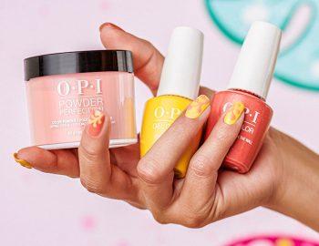 OPI powder nails