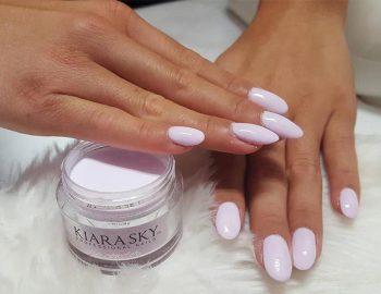 Kiara sky dip nails